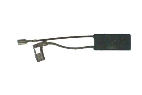 585 Электроугольная щетка 7х11х25 Два поводка, один с выходом для датчика для Интерскол П-40/1100