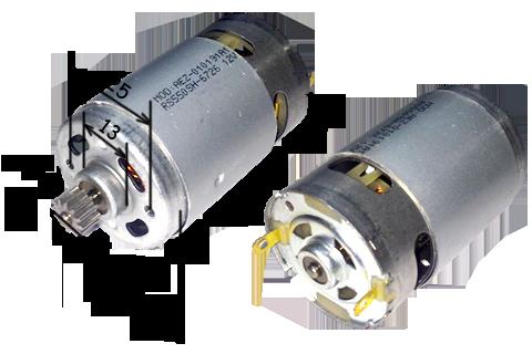 010191 А1 Двигатель на аккумуляторный шуруповерт с ответной шестерней для 12В Интерскол