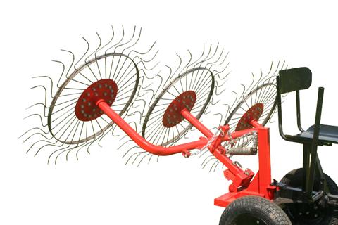 Грабли колесно-пальцевые ВМ-3 (ворошилка)
