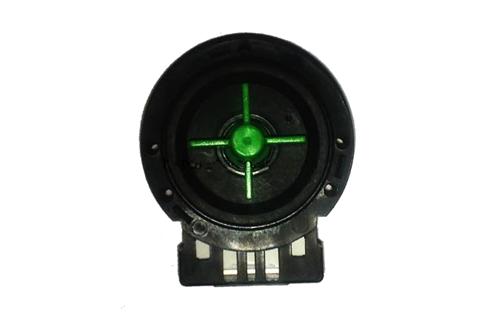 010147B помпа универсальная с зеленой крыльчаткой подходит для стиральных машин