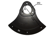 010046(А1) защитный кожух для электро и бензокосы под диск