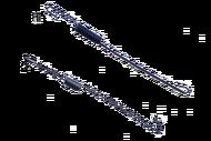 010119 комплект пружин автоматической регулировки оборотов(1-газовая тяга,2-заслонка дросселя)