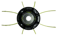 010124(2) Барабан для лески триммера Паучок, серия Ultra Pro, металлическая, установка лески без снятия с редуктора, использование маленьких кусков