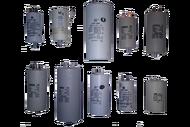 010151N1 конденсатор пуско-рабочий марки СВВ-60,450 Вт   50мкф с болтом с 4-мя клеммами    в металлическом корпусе