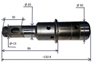 010174 (К) ствол перфоратора подходит для  HITACHI DR24    PS3