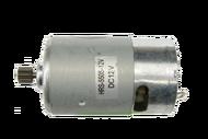010191 А  Двигатель на аккумуляторный шуруповерт без ответной шестерни - 12В Китай