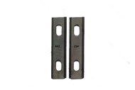 010218 С 1 Комплект ножей AEZ серии GENERAL  изготовлены из быстрорежущей стали марки HCS (65mn)100мм