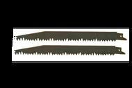 010425 ( 9 ) Набор из 2х пилок для сабельной пилы, ветки, сучки, садовая, 228мм