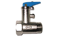 """100518 Клапан предохранит. 1/2"""" 8,5 бар.(0.85 МПа)  (С ручкой) для Аристон"""