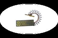 441 Электроугольная щетка 5 х 12,5 х 36 поводок, пружина, клемма-папа