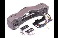 Аудиосистема для мототехники (на переднюю вилку, MP3, ПДУ) FR13 4610014473149