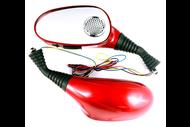 Зеркала заднего вида со встроенной звуковой системой AM5 Красный (10мм) 4610014473156