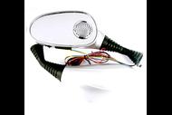 Зеркала заднего вида со встроенной звуковой системой AM5 Серебристый (10мм) 4610014473163