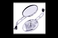 Зеркала заднего вида ТИП 42 (10мм) пр. резьба (цв. хром) 4620753548343