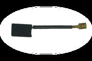 584 Электроугольная щетка 6х12х20 Поводок клемма-мама для Интерскол П-45