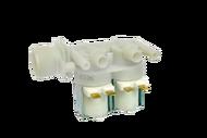 """К020ID """"Электроклапан 2Wx180 для Индезит, Аристон.   Двойной прямой вых 10мм."""""""