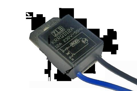 307(1) Плавный пуск,подходит для всех видов УШМ,электрокос,электропил 12А KRRQD12A(в новом поступлении ZYRQD12A с серыми проводами)
