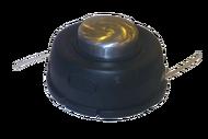 010124(14M) Барабан для лески триммера тип Т35, серии ULTRA PRO Гайка М10х1,25 левая; В комплекте доп. Гайка М12х1,75 левая, что позволяет ее устанавливать на профессиональные бензотриммеры модернизированная с металлическим вращающимся носом на подшипника