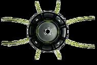 010124( 2) Барабан для лески триммера Паучок, серия Ultra Pro, металлическая, установка лески без снятия с редуктора, использование маленьких кусков