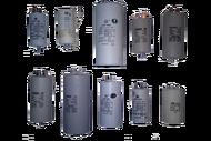 010151U конденсатор пуско-рабочий марки СВВ-60,450 Вт 130мкф с болтом с 4-мя клеммами