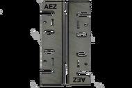 010217 В1 Комплект ножей AEZ серии GENERAL широкие изготовлены из быстрорежущей стали HCS (65 mn) 110 мм