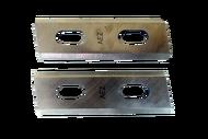 010218 A1 Комплект ножей AEZ серии GENERAL  изготовлены из быстрорежущей стали марки HCS (65mn)75мм