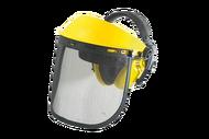 010299C(U) Защитный щиток регулируемый с железной сеткой Ultra Pro с наушниками