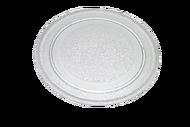 010452(1) тарелка для микроволновой печи d=24,5 плоская
