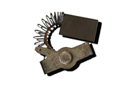 414 Электроугольная щетка 8х16х25 Пружина, прямоуг-пятак уши (для ЭЛЕКТРОПИЛЫ ПАРМА- М