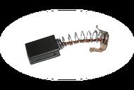 449 Электроугольная щетка Greapo 5х8х12 Проточка 2, пружина, пятак-зацепы подходит для Greapo WS-125