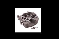 Головка цилиндра 4Т 157FMI (CG125) D57,4 (d=24/29) в сборе (клапаны, пружины,свеча)  4610013542631