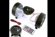 Аудиосистема для мототехники (сабвуфер, MP3, ПДУ) SUB133-LED 4610014473095