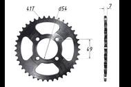Звезда ведомая (428-41T) (4x49) D54; DELTA, ALPHA 4620753534933