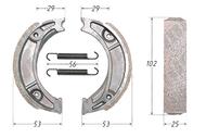 Колодки тормозные барабанные (105x25mm) DELTA,ALPHA,CG125 задние 4620753537101