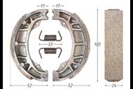 Колодки тормозные барабанные (105x25mm) DELTA,ALPHA,CG125 передние (задние R50, STORM) 4620753537118