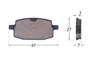 Колодки тормозные дисковые R50,STORM,AXIS 4620753537156