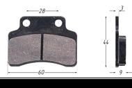 Колодки тормозные дисковые STINGER,TACTIC,VORTEX,ARROW 4620753537187