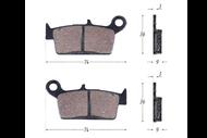 Колодки тормозные дисковые LEAD50/90 (HF101) 4620753547391