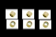 Грузики вариатора 16*13 6,0гр. (6шт) 139QMB, DIO 4620753548183