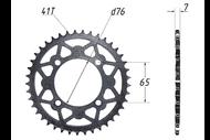 Звезда ведомая (428-41T) (4x65) D76; TTR125 4620761962339