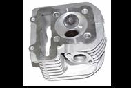 Головка цилиндра 4Т 158QMJ D57,4 (d=24/28) (подш. D-32mm) в сборе (клапаны, пружины,свеча); STELS, KEEWAY 4620761968591