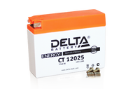 Аккумуляторная батарея 12V2,3Ah Slim (113х38х87) (гелевая, необслуж.) DELTA; AD,JOG 4627073800014