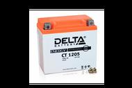 Аккумуляторная батарея 12V5Ah (114x70x106) (залитая, необслуж.) DELTA  4627073800045