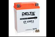 Аккумуляторная батарея 12V7Ah (114x70x132) (залитая, необслуж.) DELTA  4627073800052