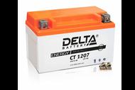 Аккумуляторная батарея 12V7Ah (150x86x94) (залитая, необслуж.) DELTA  4627073800069