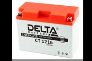 Аккумуляторная батарея 12V16Ah (207x72x164) (залитая, необслуж.) DELTA  4627073800168