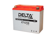 Аккумуляторная батарея 12V18Ah (177x88x154) (залитая, необслуж.) DELTA  4627073800526