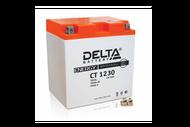 Аккумуляторная батарея 12V30Ah (168x126x175) (залитая, необслуж.) DELTA  4627073800564