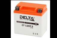 Аккумуляторная батарея 12V7Ah (114x70x108) (залитая, необслуж.) DELTA  4627073800847