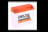 Аккумуляторная батарея 12V7Ah (148x60x128) (залитая, необслуж.) DELTA 4627073802452